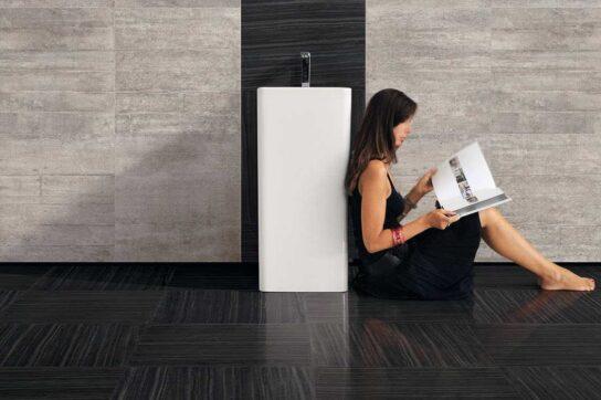 Provenza Re-use Marble Nero Tungsteno
